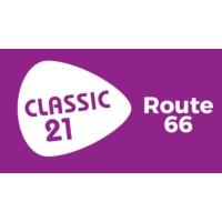 Logo of radio station Classic 21 - Route 66 (RTBF)