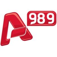 Logo de la radio Alpha 989