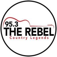 Logo de la radio WEBL 95.3 The Rebel