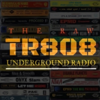 Logo of radio station THE RAW 808 UNDERGROUND