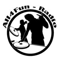 Logo of radio station All4Fun Radio