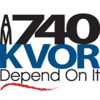 Logo de la radio KVOR AM 740