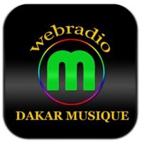 Logo of radio station Dakar Musique