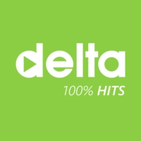 Logo de la radio Delta FM 100% Hits