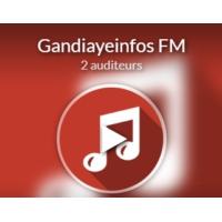 Logo de la radio Gandiaye Infos FM