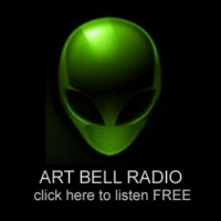 Logo of radio station Art Bell Radio 24/7 paranormal Talk