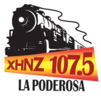 Logo of radio station XHNZ La Poderosa 107.5