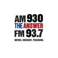 Logo of radio station KLUP AM 930 The Answer