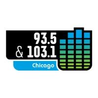 Logo of radio station WVIV-FM 93.5 Latino Mix