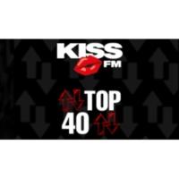 Logo of radio station KISS FM - TOP 40