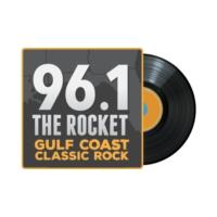 Logo de la radio WRKH 96.1 The Rocket
