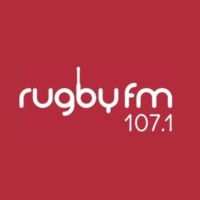 Logo of radio station 107.1 Rugby FM