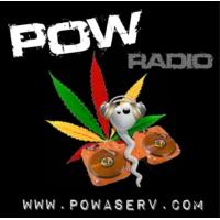 Logo of radio station POW RADIO