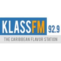 Logo of radio station KLASS 92.9 FM