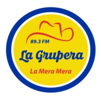 Logo of radio station La Grupera 89.3 FM