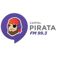 Logo de la radio Pirata FM Cancún