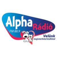 Logo de la radio Alpha Rádió