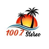 Logo of radio station 100.7 stereo