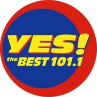 Logo of radio station 101.1 Yes The Best