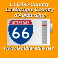 Logo de la radio La Cible Country