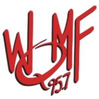 Logo of radio station 95.7 WQMF