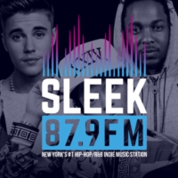 Logo of radio station SLEEK879FM