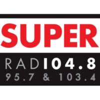 Logo of radio station Super FM 104.8