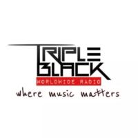 Logo of radio station Triple Black Radio