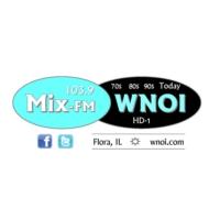 Logo of radio station Mix-FM WNOI 103.9