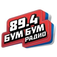 Logo of radio station Бум Бум Радио 89,4