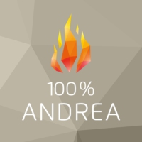 Logo of radio station 100% Andrea Berg - von Schlagerplanet Radio