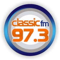 Logo of radio station Classic FM 97.3
