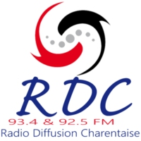 Logo of radio station RDC FM 92.5 & 93.4FM