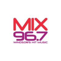 Logo of radio station CHYR-FM Mix 96.7