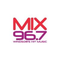 Logo of radio station CHYR-FM Mix 96.7