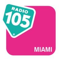 Logo of radio station Radio 105 Miami