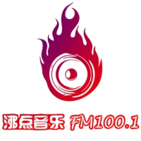 Logo of radio station 上海沸点100音乐广播