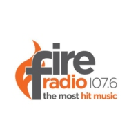Logo of radio station Fire Radio 107.6