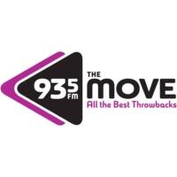 Logo of radio station 93-5 The Move