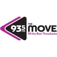 Logo of radio station 93-5 The Move