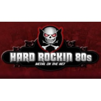 Logo of radio station Hard Rockin 80s