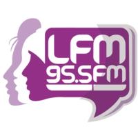 Logo of radio station LFM 95.5 FM