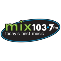 Logo of radio station CFVR-FM MIX 103.7