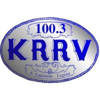 Logo of radio station 100.3 KRRV