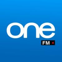 Logo of radio station ONE FM