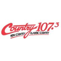 Logo of radio station CJDL Country 107.3