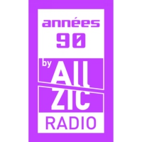 Logo of radio station Allzic Radio ANNÉES 90