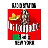 Logo of radio station Los compadres radio