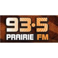 Logo de la radio 93.5 Prairie FM