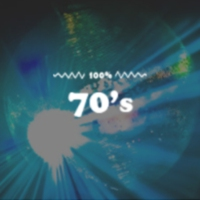 Logo de la radio 100FM - 70s